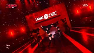 JiYeon 1Min 1Sec (  Never Ever )  SBS The Show 14-05-27