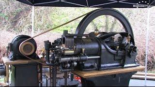 Unterwellenborn - größtes Stationärmotoren Treffen Deutschlands  2-6 Stationary Engine Rally