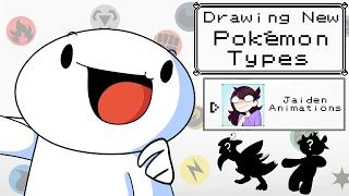 Drawing New Pokemon Types w/Jaiden Animations