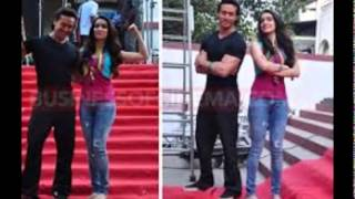 My Making Lets Talk About Love Song Baaghi 2016