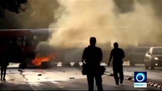 Chile Clashes mar protest over transport fare hikes