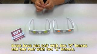 How to Make Dual Play Glasses - LG 3D TV