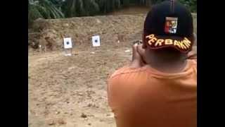 panduan tekhnik menembak senjata api genggam/handgun type revolver