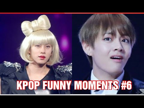 KPOP FUNNY MOMENTS TRY TO NOT LAUGH CHALLENGE PART 6