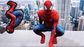 Become Spiderman In Real Life (Flips, Stunts, Parkour)