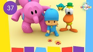 POCOYO WORLD: Let's Go Camping (EP37) | 30 Minutes with close caption