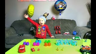 LEARN COLORS for Children Playground Family Fun COLORS & MONSTER TRUCKS Hot Wheels