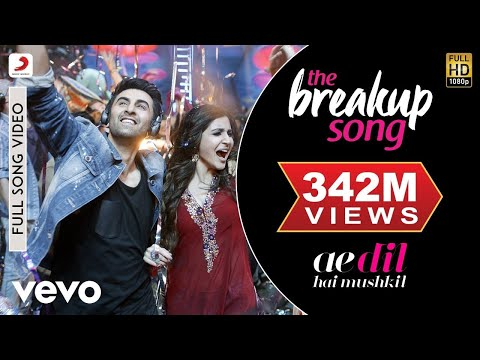 Xxx Mp4 The Breakup Song Ae Dil Hai Mushkil Ranbir Anushka Pritam Arijit 3gp Sex