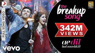 The Breakup Song - Ae Dil Hai Mushkil | Ranbir | Anushka | Pritam | Arijit