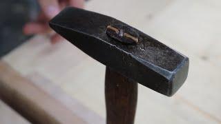Restoring a small forging hammer