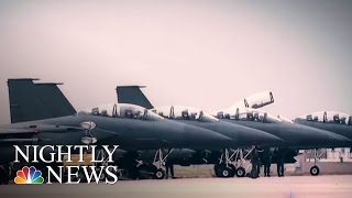 US Deploys 'Sniffer' Aircraft To Detect North Korea Nuclear Tests | NBC Nightly News