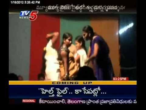 Police & Villagers Enjoying nude Vulgur Dances | TV5 News