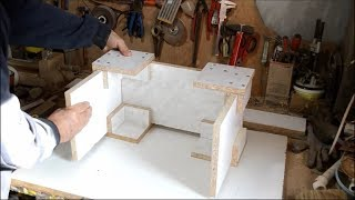 How to make a simple tool for joining plywood (chipboard)