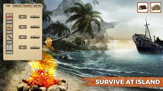Savage Island Survival android game first look gameplay español