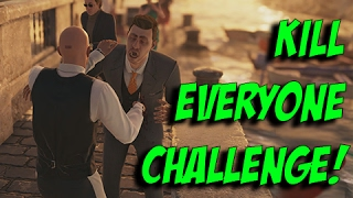 Landslide Kill Everyone Challenge! - Hitman | Sapienza