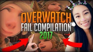 OVERWATCH FUNNY/FAIL MOMENTS of 2017