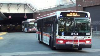 TTC - Eglinton Station Bus Terminal |  Compilation Video #2