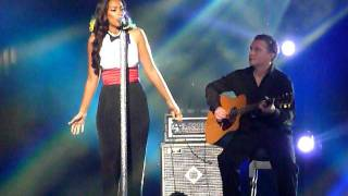 Leona Lewis - I'll Be There - Michael Jackson Tribute Concert, Cardiff 08/10/11