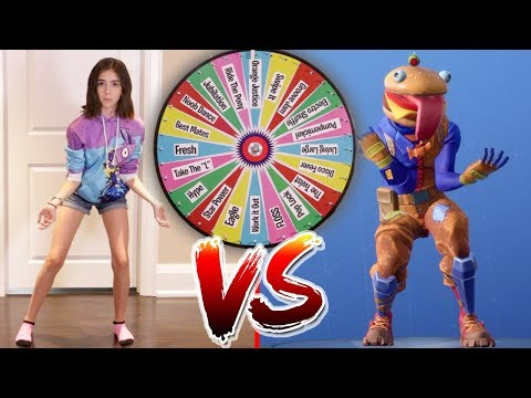 FORTNITE DANCE MYSTERY WHEEL CHALLENGE In Real Life