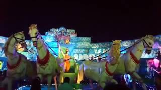 Durga puja them sponsor by Santu.