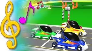 TuTiTu Songs | Race Cars Song | Songs for Children with Lyrics