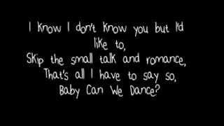 Can We Dance - The Vamps lyrics