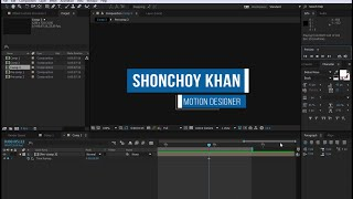 After Effects Dynamic Lower Third Tutorial  # 11