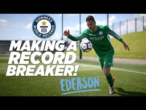 MAKING A RECORD BREAKER EDERSON DE MORAES Guinness World Records