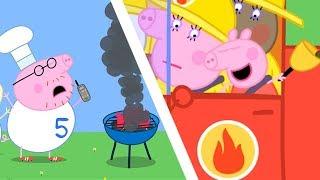 Peppa Pig Świnka Peppa po Polsku   Peppa i straż pożarna   Bajki Po Polsku