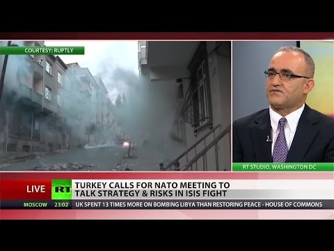 Turkey accused of bombing Kurdish people in fight against ISIS