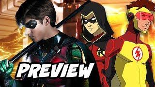 Titans Season 1 Batman and Young Justice Season 3 Preview Breakdown