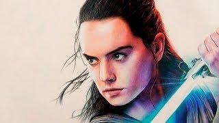 Drawing Rey (Daisy Ridley) | Star Wars: The Last Jedi - Florensi Q.