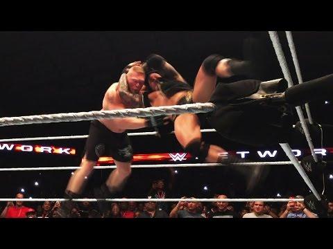 Randy Orton s sneak attack gives Brock Lesnar a taste of his own medicine Sept. 25 2016