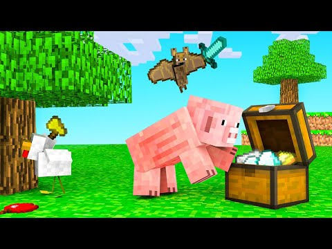 MINECRAFT But We re Playing as ANIMALS