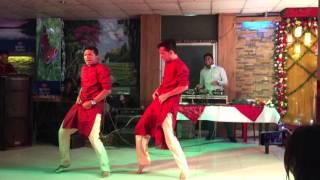 Holud Dance Performance Desi Boys HD