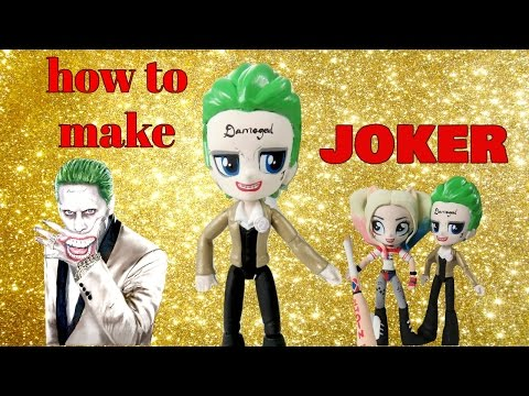 How To Make Joker Suicide Squad with MLP Mini Doll | Start With Toys