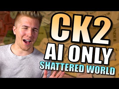 Crusader Kings 2 - Shattered World Mod! | CK2 Gameplay [AI Only] Part 1
