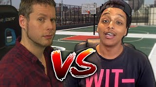 TROYDAN vs AGENT 00! 3 POINT SHOOT OUT!!