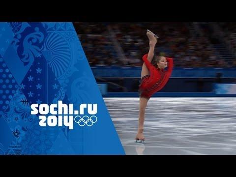 Yulia Lipnitskaya s Phenomenal Free Program Team Figure Skating Sochi 2014 Winter Olympics
