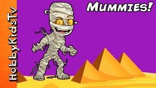 Super Creepy MUMMY Surprises! Night Time Scary Fun HobbyKidsTV