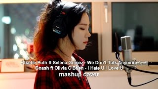 We Don't Talk Anymore & I Hate U I Love U ( MASHUP cover by J.Fla )