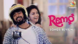 Remo Songs Review | Sivakarthikeyan, Keerthi Suresh, Anirudh Ravichander | Tamil Movie