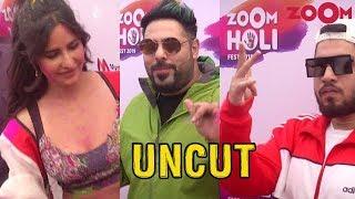 Zoom Holi Fest 2019 | Katrina Kaif, Badshah, Arjun Kanungo, Naezy, Dino Morea | Exclusive