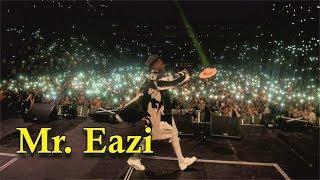 MR. EAZI PULLED CROWD AT WIZKID AFRO REPUBLIK CONCERT