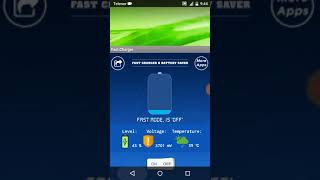 Fast charger - Battery saver