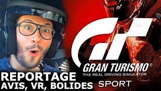GRAN TURISMO SPORT : mon reportage chez Ferrari pour tout savoir (PS VR, compétition, avis)