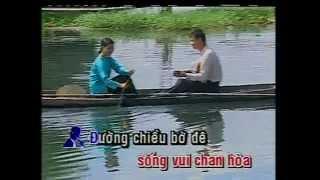 Chieu Dong Que_Ha Vy,Thai Chau-Karaoke