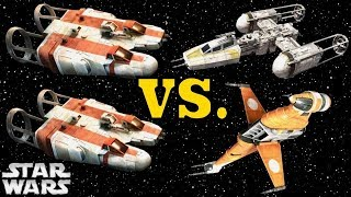 How the Rebel H-Wing Almost Replaced the Y-Wing and B-Wing (And Why It Didn