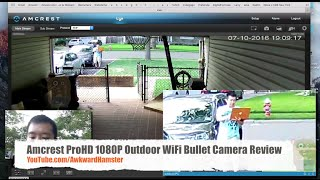 In-Depth Review: Amcrest ProHD 1080P Outdoor WiFi Bullet Camera Review