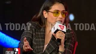 Rani Mukerji Explains Hichki At India Today Conclave East 2017